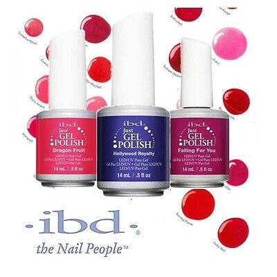 ibd Just Gel Polish - Colores (A-G) - Esmalte Semipermanentes - 14ml - LED/UV