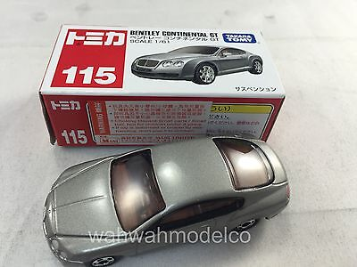 Tomica #115 Bentley Continental Gt 2010 New Model Tomy
