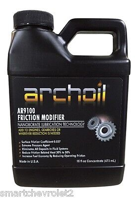 Archoil AR9100 16oz. Friction Modifier Oil Additive Powerstroke Diesel