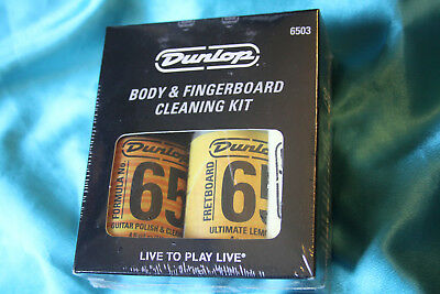 Dunlop System 65 Body and Fingerboard Cleaning Kit, MPN 6503