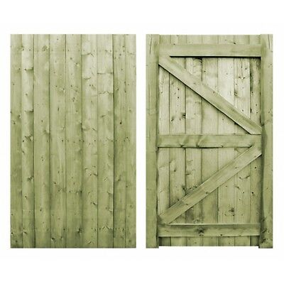 Garden Side Gate Featheredge Gate Bespoke Gates Wooden Gate Heavy Duty