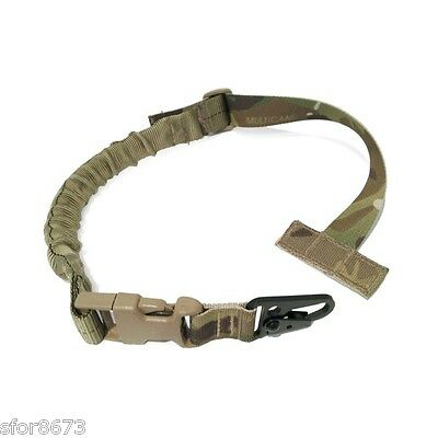 Quick Release Single Point Sling for MOLLE / PALS chest rig armour carrier H & K