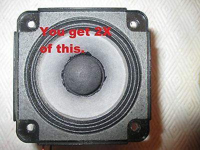 SET OF Bose Wave MUSIC System speaker replacement REPAIR part OEM Radio