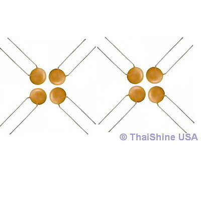 100 x 0.1uF 50V Ceramic Disc Capacitors 4 Days Delivery - USA SELLER
