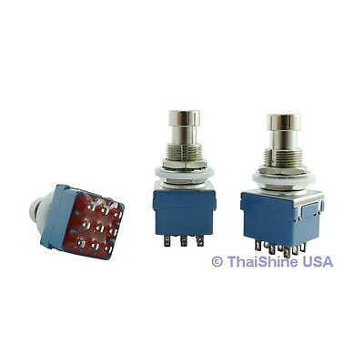 2 x 3PDT Stomp Foot / Pedal Switch - USA SELLER - Free Shipping - Get It Fast