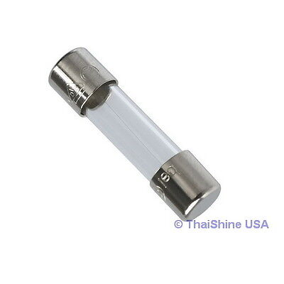10 x Fuse Glass Fast Acting 5A 250V 5x20mm - USA SELLER - Free Shipping