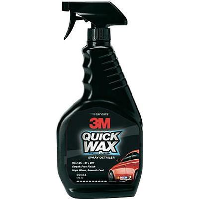 3M Quick Wax - Spray Detailer - High Gloss Smooth Feel - 473Ml 3M-39034