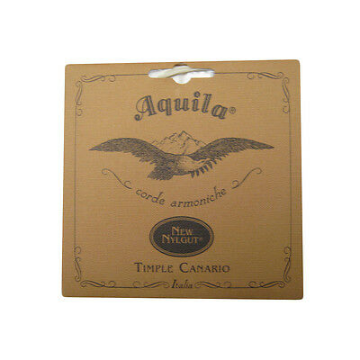 Aquila Timple Canario Strings - Nylgut - Soprano - Superior Sound - 5Ch
