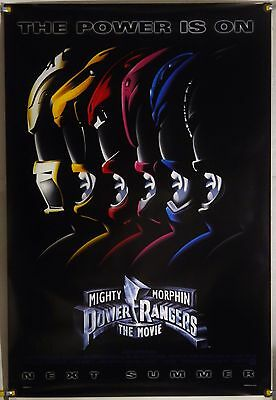 The Mighty Morphin Power Rangers Ds Rolled Adv Orig 1Sh Movie Poster (1995)