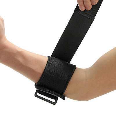 Adjustable Tennis Golf Fitness Elbow Brace Support Strap Pad Sports Protector