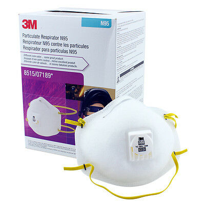 3M 8515 Particulate Welding Respirator N95, 10/Box  *Free US Shipping*