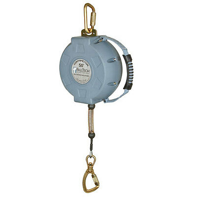 Falltech 727650 50 FT. Contractor Cable Self-Retractable Lifeline *Free US Ship*