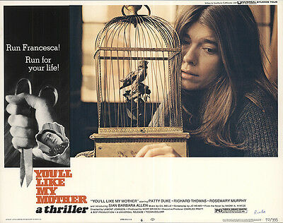 You'll like My Mother 1972 Original Movie Poster Drama Horror Thriller