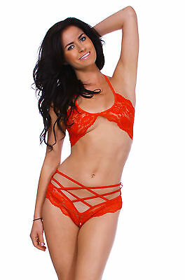Women's Fashion Lingerie Underwear Babydoll Sleepwear Bra G-string Set