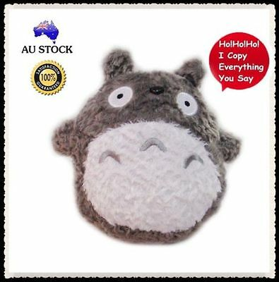 Real Voice Sound Recorder My Neighbor Totoro Plush Doll Bear Kids Boys Soft Toy