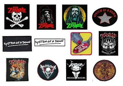 # ROB ZOMBIE tankard VENOM - OFFICIAL SEW-ON PATCH logo patches