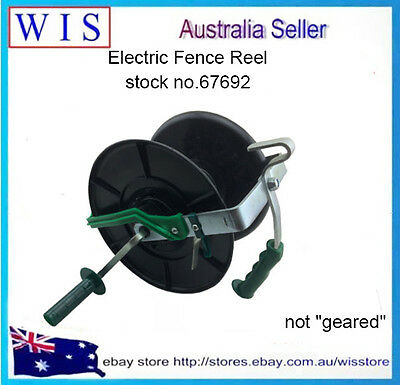 Wind Up Electric Fence Reel,Electric Fencing Fence Reel for Poly Tape&Wire-67692