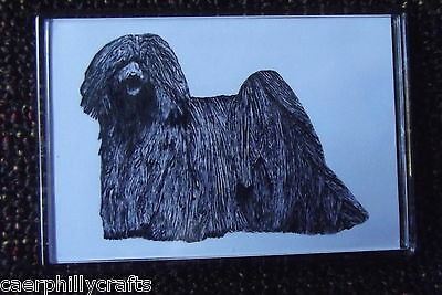 Hungarian Puli Magnet by Curiosity Crafts