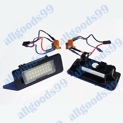 VW Passat B7 (2011-) 24xSMD License Number Plate LED Light Upgrade/Repalcement