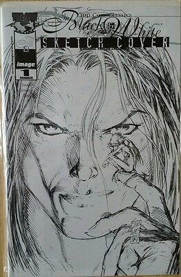 The Darkness Black & White #1 Dynamic Forces Sketch cover ltd to 3000 copies