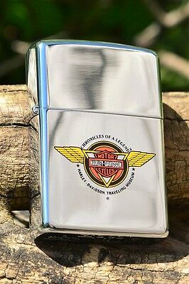 Zippo Lighter - Harley Davidson Traveling Museum  - Chronicles of a Legend 1992