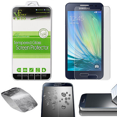Real Tempered Glass Film Lcd Screen Protector For Samsung Galaxy A3