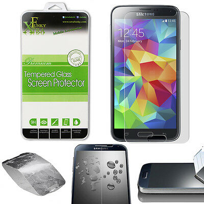 Real Tempered Glass Film Lcd Screen Protector For Samsung Galaxy S5