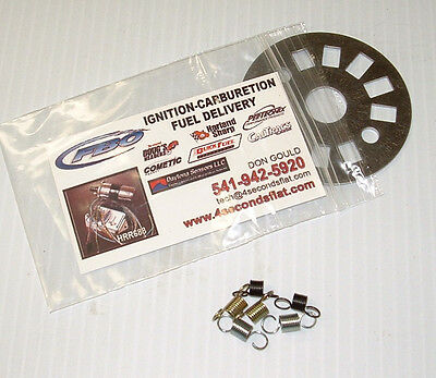 Mopar Ignition Mechanical Timing Limiter Plate w/Springs