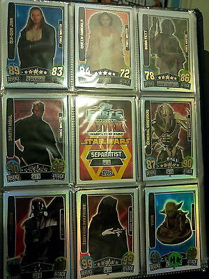 @@Star Wars Force Attax - Movie Serie 3-Force Master: Chewbacca 228@@