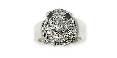 Solid Sterling Silver Guinea Pig Ring Jewelry  GP1-R