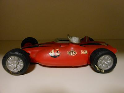 LIONSTONE DECANTER ANDY GRANATELLI STP TURBO CAR #40 LARGE VERY NICE COLLECTIBLE