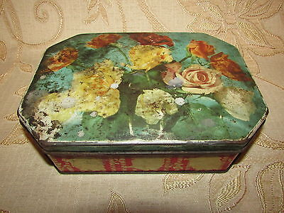 Vintage Collectable Fry's Chocolates J. S. Fry & Sons Ltd. Tin
