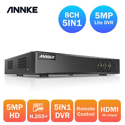 ANNKE 8CH 1080N H.264 Video CCTV Security DVR Recorder QR Code Remote View