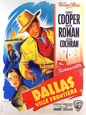 Dallas - Original French Poster - Very Rare