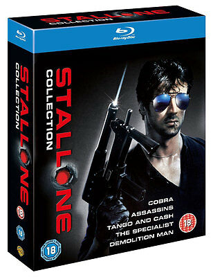 SYLVESTER STALLONE COLLECTION [Blu-ray 5-Movie Box Set] Cobra, Demolition Man