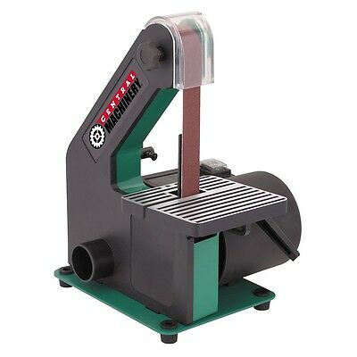 1in x 30in 1/3 HP Motor Bench-top Belt Sander Stock Removal Smoothing Tool NEW!!