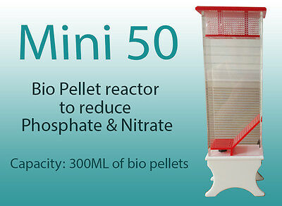 MINI 50 Reactor for Bio Pellets, active carbon and other Filter media