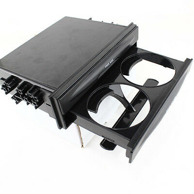 Front Cup Holder and Storage Box Car Audio Conversion for Car truck Universal