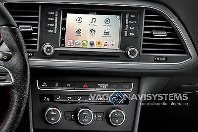 """NaviTouch® Android - GPS, Wifi, 3G, USB, SD - SEAT con (5.8""""/6.5"""") Easyconnect"""