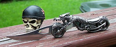 Dragon  Motorcycle / Biker lever lock folding Knife Very Cool   NEW