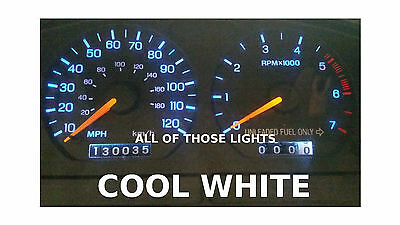6 Cool White T10 Led Instrument Panel Cluster Dash Light Bulb Pc168 Pc194