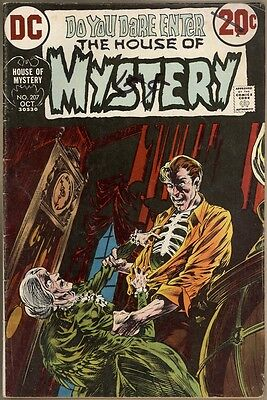 House Of Mystery #207 - VG-