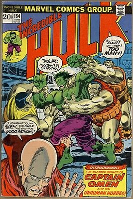Incredible Hulk #164 - VG+