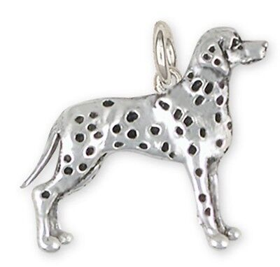 Sterling Silver Dalmatian Charms Jewelry - DM5C