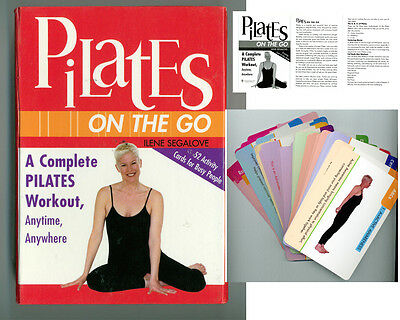 Activity Cards Pilates On The Go -Complete Pilates Workout Anywhere Ilene Segalo