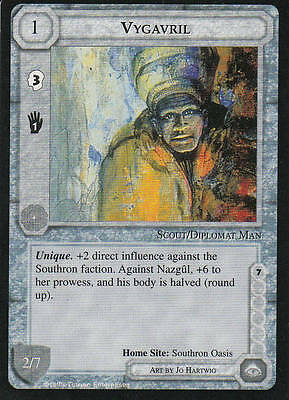 Vygavril Middle Earth The Wizards  CCG bb lim.Edition Mint/N.Mint 1995 ME09