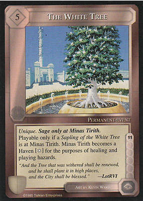 The White Tree Middle Earth The Wizards CCG bb lim.Edition Mint/N.Mint 1995 ME41