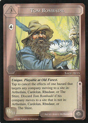 Tom Bombadil Middle Earth The Wizards CCG bb lim.Edition Mint/N.Mint 1995 ME42