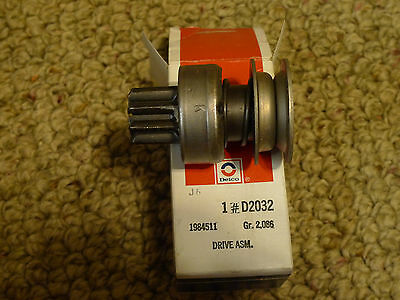 New ACDelco Delco Remy D2032 Starter Drive Assembly 1985411