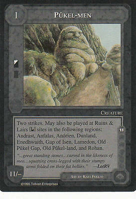 Pükel-Men Middle Earth The Wizards CCG bb lim.Edition Mint/N.Mint 1995 ME45